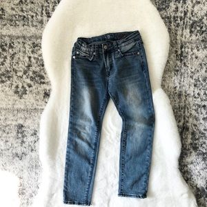 Kids 7 For All Mankind 'Slimmy' jeans! Size 7